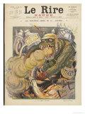 Anti-German the Monster of German Kultur Premium Giclee Print by Henri Lanos