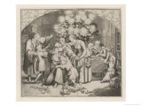 Christmas in the Luther Home Premium Giclee Print by Gustav Konig