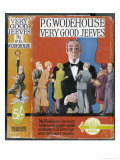 Bertie Wooster's Imperturbable Gentleman's Gentleman is Looked to for Counsel Premium Giclee Print by Author: Sir