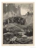 Albigensian Crusade Giclee Print by G. Rochegrosse