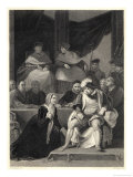 The Trial of the Marriage Between Henry VIII and Catherine of Aragon Giclee Print by Harry Payne