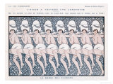 Showgirls Perform the Dance of the Snowflakes Giclee Print by Kuhn-regnier 