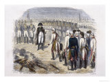 Capitulation of Ulm after Being Out-Manoeuvred by Napoleon Giclee Print by Raffet 