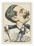 Paul Granier de Cassagnac French Journalist Politician and Noted Duellist Giclee Print by  Moloch
