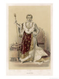 Emperor of France in His Coronation Robes Giclee Print by F. Philippoteaux