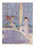 Cupid is Scolded by His Mother Aphrodite for Loving Psyche Giclee Print by Dorothy Mullock