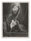 Agamemnon is Deluded by a Vision Appearing Under the Form of Nestor Giclee Print by James Heath