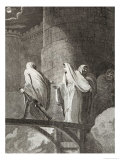Empress Matilda Imprisoned by Stephen in Oxford Castle Giclee Print by  Neagle