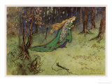 Frog Prince Giclee Print by Warwick Goble
