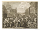The March to Finchley Giclee Print by William Hogarth