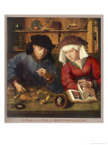 Banker of the 16th Century with His Wife Giclee Print by Quentin Matsys