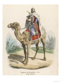 Regiment des Dromadaires During Napoleon's Egyptian Campaign Giclee Print by Leloir