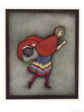 Little Red Riding Hood Giclee Print by Jennie Harbour