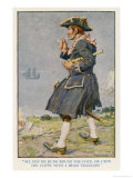 Captain Bill Keeps Watch Premium Giclee Print by Monro S. Orr