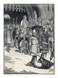 Odo of Bayeux Unable to Regain Power Conspires Against William II and is Exiled from England Giclee Print by H.m. Paget