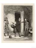 Spencer Perceval is Shot and Killed by John Bellingham Giclee Print by  Phiz