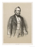 Richard Cobden English Politician and Economist Giclee Print by Kratzberger