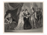 The Treaty of Troyes Between Henry V of England and Charles VI of France Giclee Print by J. Rogers