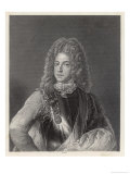 The Old Pretender James Francis Edward Stuart Father of Charles Edward Stuart Giclee Print by William Holl the Younger