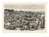 The Crowded Thames at Henley on a Regatta Day Giclee Print by William Small