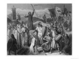 The Crusaders Take Jerusalem Giclee Print by Lechard
