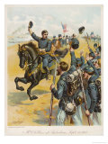 Battle of Antietam Union General George Mcclellan Defeats Lee Giclee Print by H.a. Ogden