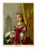 Isabella I of Spain Ruled with Her Husband Ferdinand II Giclee Print by Planetta