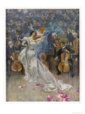The Violin Concerto Giclee Print by John Gulich