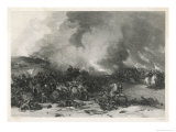Battle of Naseby Despite a Fine Charge by Prince Rupert's Cavalry Cromwell Giclee Print by E. Radclyffe