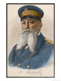 Alfred Von Tirpitz German Naval Commander in 1915 Giclee Print by Otto Renatus