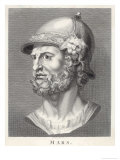 The Roman God of War Similar to the Greek God Ares But Not Identical Giclee Print by T. Holloway