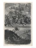 Odin Odin's Wild Hunt Giclee Print by  Muller