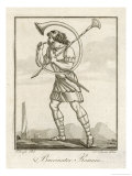 Bucinator (Trumpeter) of the Roman Army Giclee Print by  Saint-sauveur