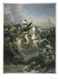 Napoleon I Napoleon at the Battle of the Pyramids Giclee Print by T.w. Huffan