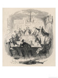 Mr. Pickwick Addresses the Club Giclee Print by Robert Seymour