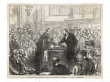 Ulysses S. Grant Receiving the Freedom of the City of London Giclee Print
