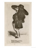 Theophile Gautier French Writer Giclee Print by Nadar 