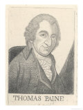 Thomas Paine Radical Writer Born in England Emigrated to America in 1774 Giclee Print by John Kay