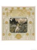 Joseph and Jesus Premium Giclee Print by Heinrich Lefler