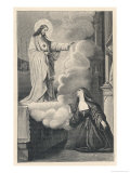 Marguerite-Marie Alacoque Has Her Fourth Giclee Print by A. Napier