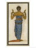 Serimpie, Javanese Dancer Who Would Have Performed at the Royal Court Giclee Print by Tyra Kleen