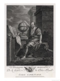 Democritus Greek Philosopher and Scientist Giclee Print by Lorieux