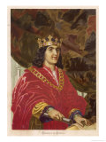 King Ferdinand II of Spain Ruled with His Wife Isabella I Giclee Print by Planetta