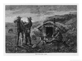 An Outlying Camp Giclee Print by Frederic Sackrider Remington