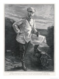 Alexei Nicholaievitch Kuropatkin Russian General in 1904 Giclee Print by Sidney Hall