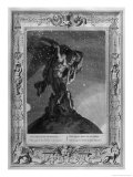 The Titan Atlas Supports the Heavens on His Shoulders Giclee Print by Bernard Picart