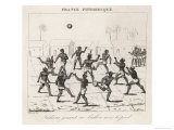 Native Guyanese Indians Play a Regional Variant of Football Reliant It Appears Giclee Print by  Laucauchie