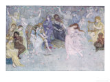 The Wedding of Cupid and Psyche Giclee Print by Dorothy Mullock