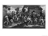 Skimmington Custom Giclee Print by William Hogarth