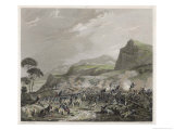 Battle of Camp de Perulle French Defeat the Piedmontese Giclee Print by Adolphe Roehn